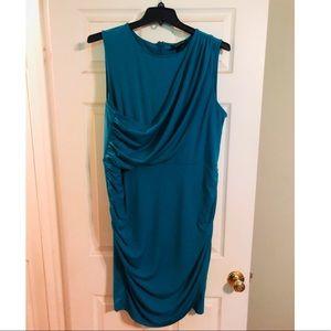 Lane Bryant Dresses - Lane Bryant Teal Sheath Dress